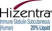 Hizentra®, Immune Globulin Subcutaneous (Human), 20% Liquid, by CSL Behring LLC.