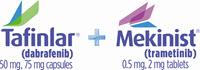 TAFINLAR® (dabrafenib) capsules + MEKINIST® (trametinib) tablets
